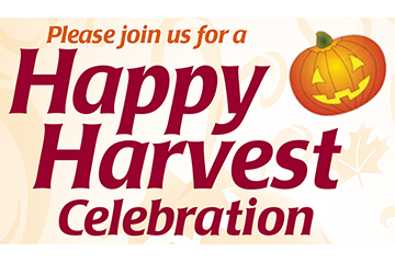 Happy Harvest Celebration | To Benefit Maple Leaf & Raise-A-Roof